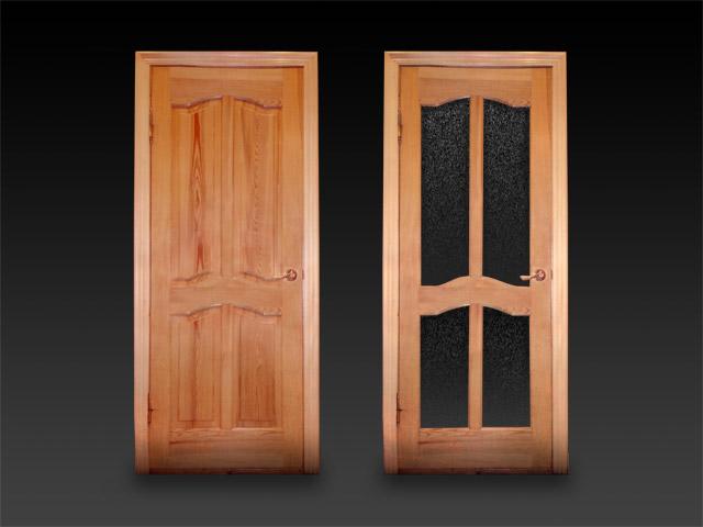 Деревянные двери фото