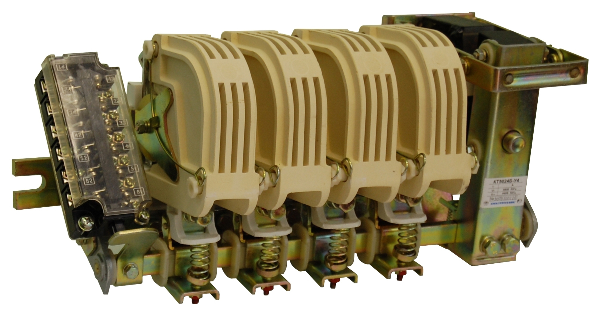 Контактор представляет собой электромагнитное приспособление, задача.