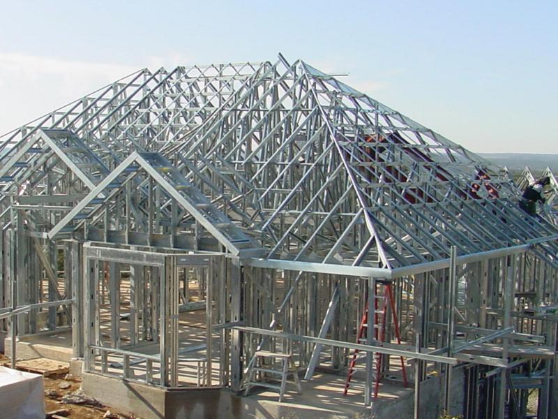 Montažne zgradbe iz lahkih kovinskih konstrukcij