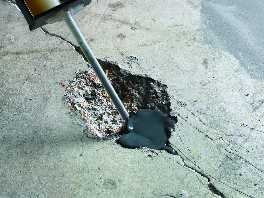 Ремонтируем бетон.