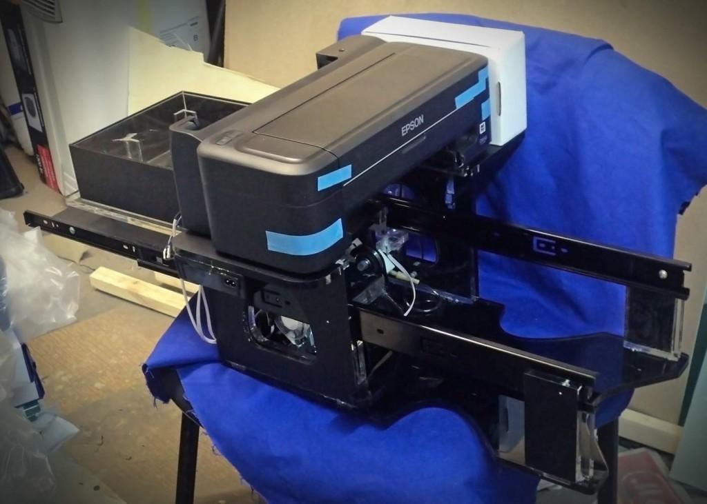 Принтер струйный своими руками 656