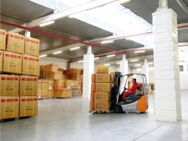 Отдел складского хранения и транспортировки